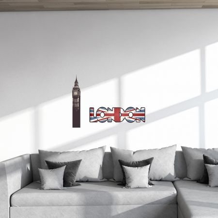 Crearreda stenska dekorativna nalepka London L