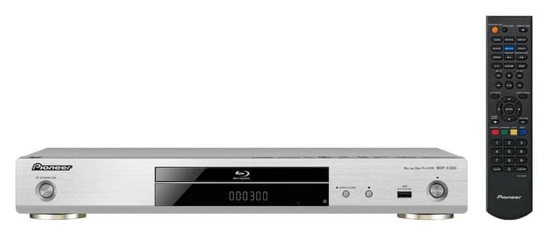 Pioneer BDP-X300-S, stříbrná