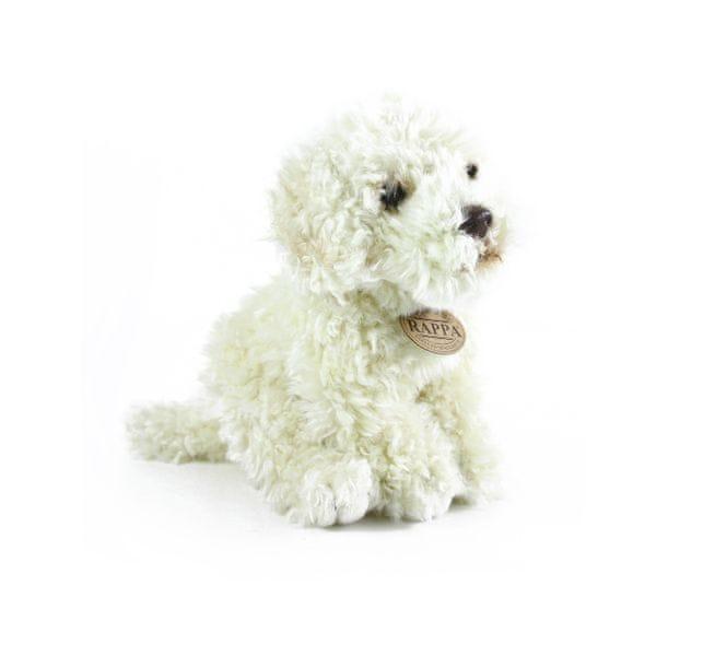 Rappa Plyšový pes labradoodle sedící, 24 cm