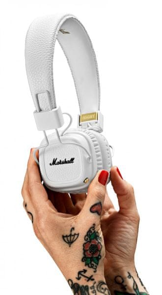 MARSHALL Major II Bluetooth, White