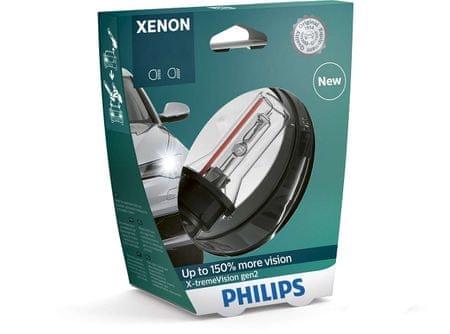 Philips žarulja Xenon D1S X-treme Vision gen2