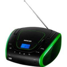SENCOR radiaodtwarzacz przenośny SPT 1600, czarny/zielony