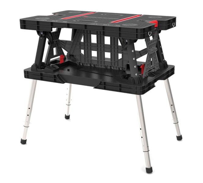 KETER skládací pracovní stůl s příslušenstvím (231357)
