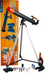 Levenhuk Sada mikroskopu, teleskopu a binokulárního dalekohledu Levenhuk LabZZ MTB3
