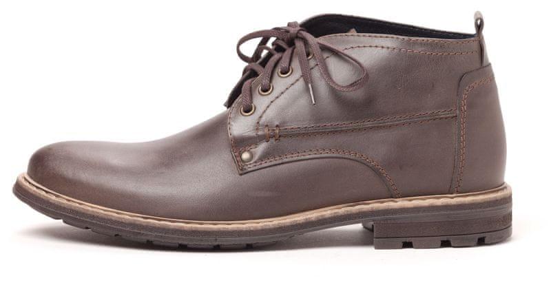 Klondike pánská kotníčková obuv 44 hnědá