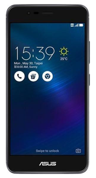 Asus ZenFone 3 MAX (ZC520TL), Dual SIM, 2 GB / 32 GB, šedý