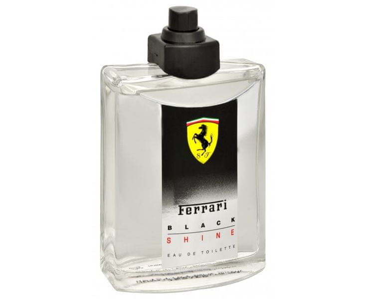 Ferrari Black Shine - EDT TESTER 125 ml