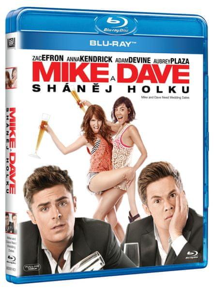 Mike i Dave sháněj holku - Blu-ray