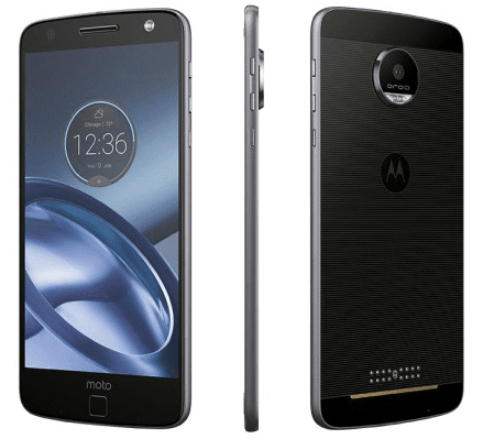 Lenovo Moto Z, 4 GB/32 GB, Single SIM, Black (SM4444AE7T3)