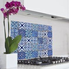 Crearreda kuhinjski panel Modri vzorec