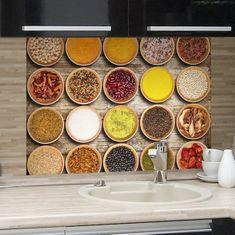 Crearreda kuhinjski panel Začimbe