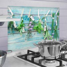 Crearreda kuhinjski panel Zelišča