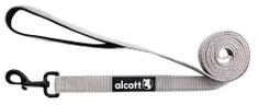 Alcott Nylonové vodítko s reflexnými prvkami šedé 180 cm