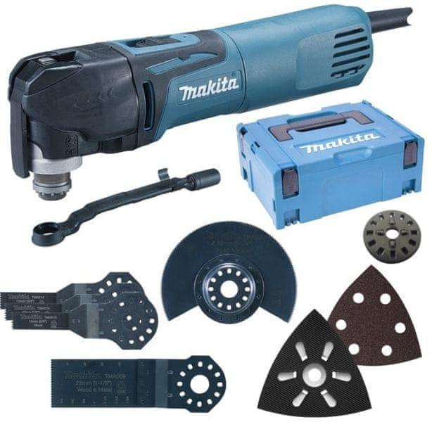 Makita TM3010CX5J Multi tool s příslušenstvím