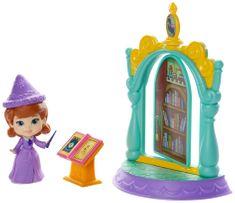 Disney Sofia Prvá: mini hrací set - čarovná knižnica