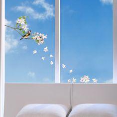 Crearreda okenska dekoracija Ptički na veji, L