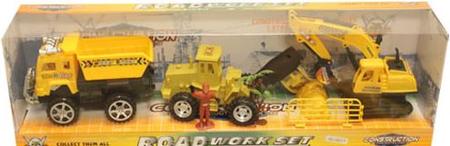 Unikatoy gradbena vozila, set (24707)