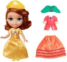 Disney Sofia Prvá: Bábika s doplnkami - módny set
