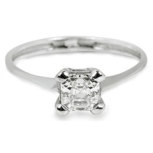 Troli Stříbrný zásnubní prsten s krystalem 426 001 00427 04 51 mm stříbro 925/1000