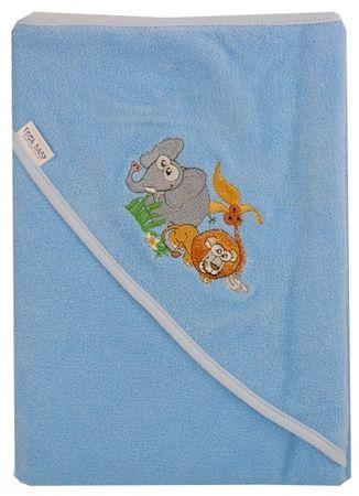 COSING brisača 100 x 100 cm - safari, modra