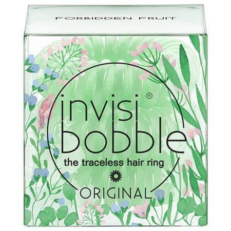 Invisibobble gumki do włosów Forbidden Fruit - zakazany owoc - zielony - 3 pack