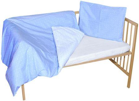 COSING 2-delni komplet posteljnine SLEEPLEASE, karo modra