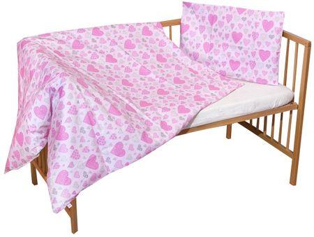 COSING Dwuczęściowy komplet pościeli SLEEPLEASE, różowe serca