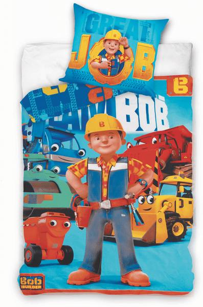 Jerry Fabrics povlečení Bořek stavitel bavlna 140x200 70x90