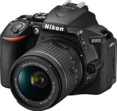 Nikon D5600 + 18-55 AF-P VR + Cashback 2500 Kč!