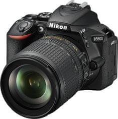 Nikon D5600 + 18-105 AF-S VR + Cashback 2500 Kč!