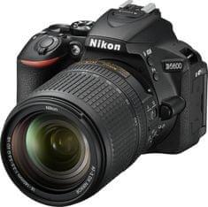 Nikon D5600 + 18-140 AF-S VR + Cashback 2500 Kč!