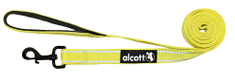 Alcott Nylonové vodítko s reflexnými prvkami neónovo žlté 180 cm