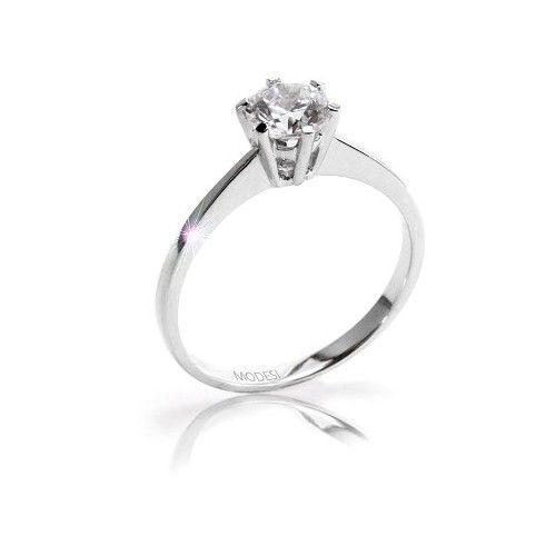 Modesi Zásnubní prsten QJR1565L 57 mm stříbro 925/1000