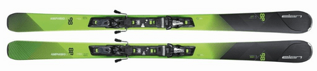 Elan smuči za alpsko smučanje Amphibio 88 XTI A4D F ELX12.0 AB0BNW16, 176 cm, zelena/črna