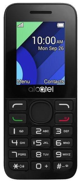 Alcatel 1054D, Dual SIM, grafitově šedá
