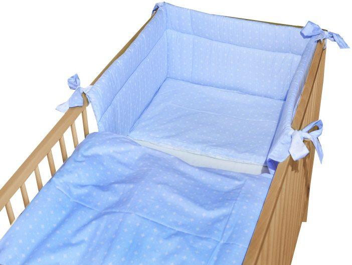 COSING 3-dílná sada povlečení SLEEPLEASE - karo modrá