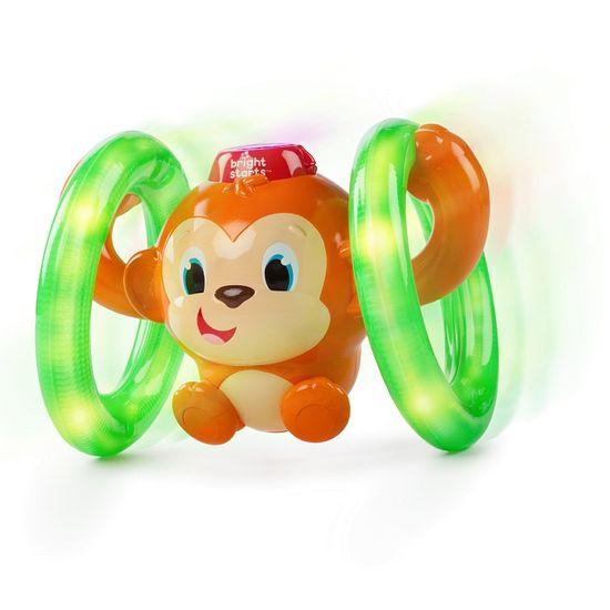Bright Starts Hračka svítící hudební opička LLB Roll & Glow