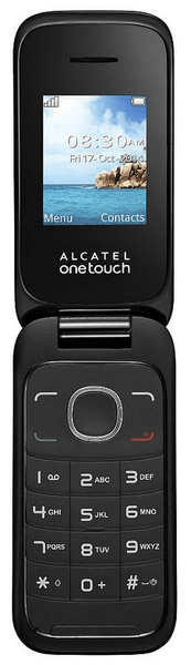 Alcatel OneTouch 1035D, Dual SIM, tmavě šedý
