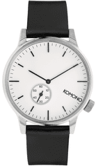 Komono zegarek Winston Subs Silver White