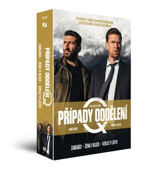 Případy oddělení Q (3DVD): Žena v kleci + Zabijáci + Vzkaz v láhvi - DVD