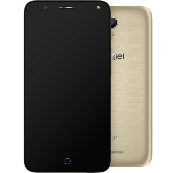 Alcatel POP 4 5051D, Dual SIM, Metal Gold