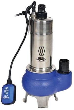 REM POWER potopna črpalka za odpadno vodo, SPG 27502 DR