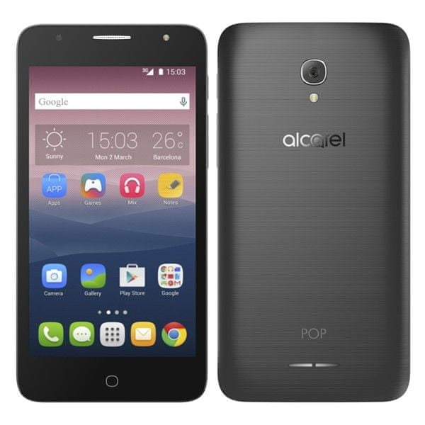 Alcatel POP 4+ 5056D, Dual SIM, Dark Grey