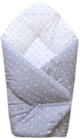 COSING spalna vreča SLEEPLEASE, karo siva