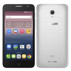 Alcatel POP 4+ 5056D, Dual SIM, Metal Silver