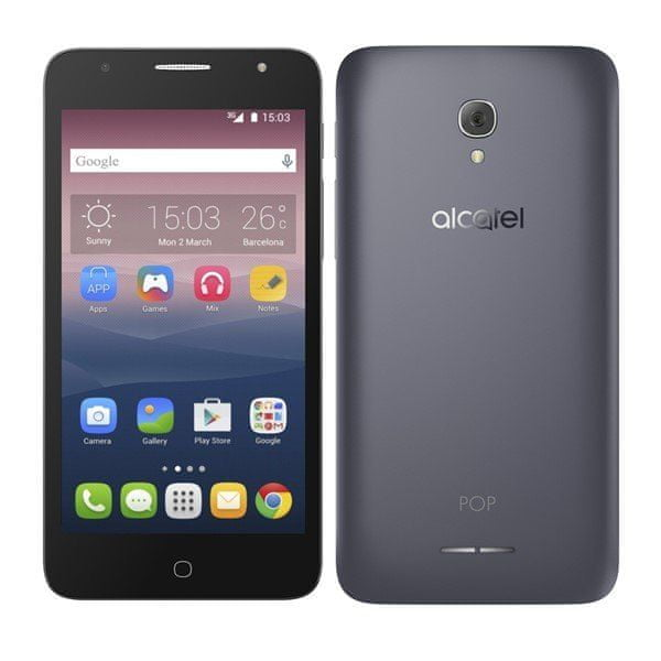 Alcatel POP 4+ 5056D, Dual SIM, Slate