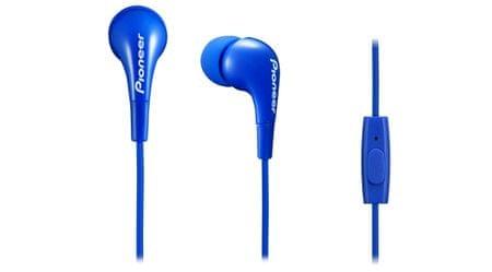 Pioneer slušalke SE-CL502T, modre