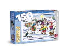 Maxim Puzzle 150 Bałwan
