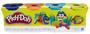 2 - Play-Doh Balení 4 tub - více druhů