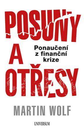 Wolf Martin: Posuny a otřesy: Jak jsme se poučili – a jak se ještě musíme poučit – z finanční krize